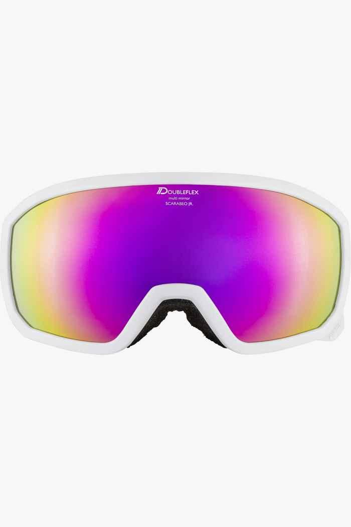 Alpina Scarabeo MM occhiali da sci bambini Colore Bianco 2