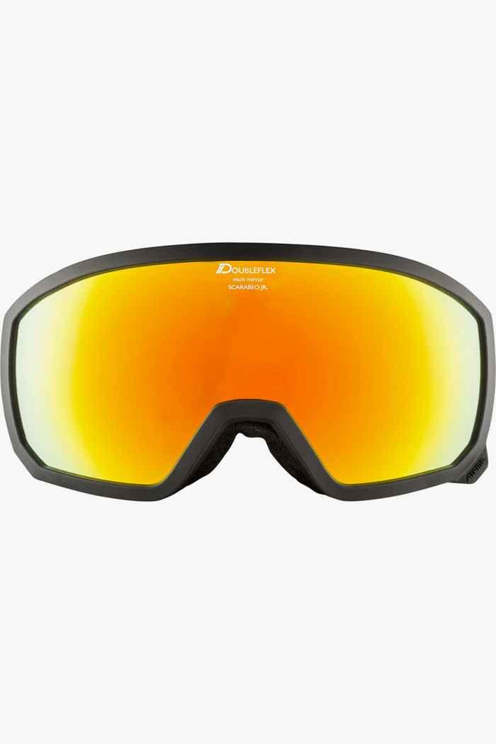 Alpina Scarabeo MM occhiali da sci bambini Colore Nero 2