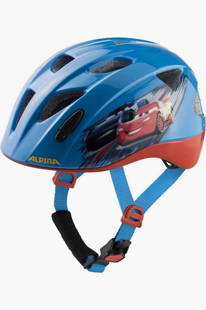 Alpina Ximo Cars casco per ciclista bambino Colore Blu 1