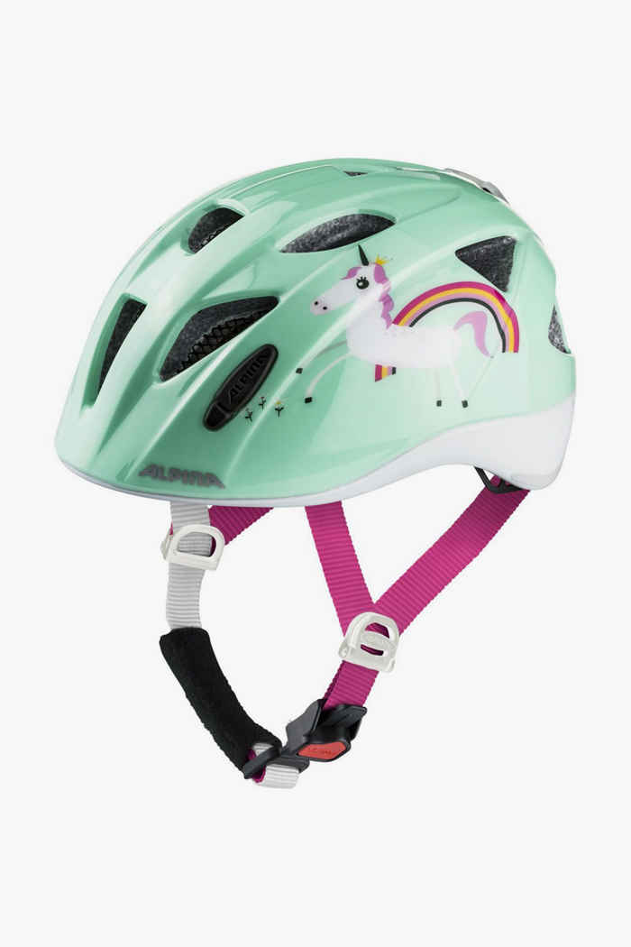 Alpina Ximo Flash casco per ciclista bambini Colore Verde menta 1
