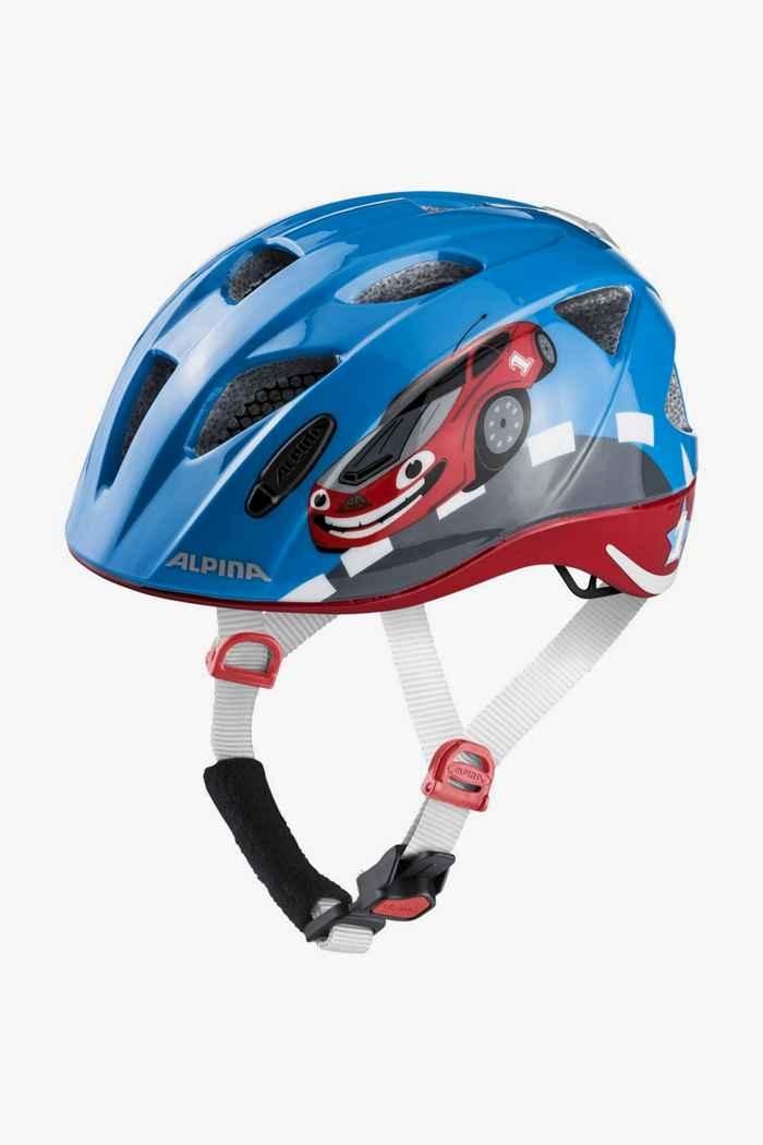 Alpina Ximo Flash casque de vélo enfants Couleur Bleu 1