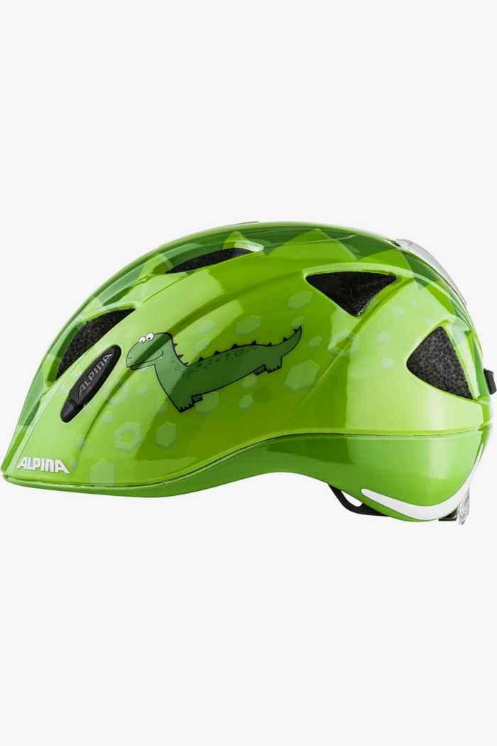 Alpina Ximo Flash Dino casco per ciclista bambini Colore Verde 2