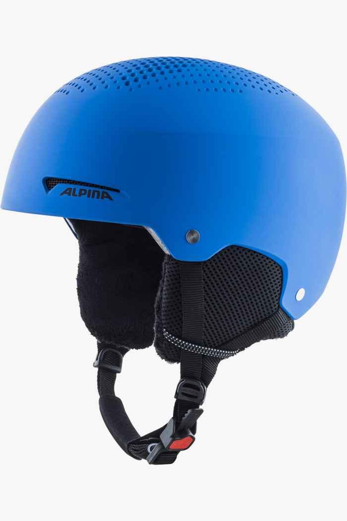 Alpina Zupo casque de ski enfants Couleur Bleu 1