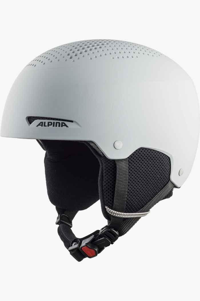 Alpina Zupo casque de ski enfants Couleur Gris 1