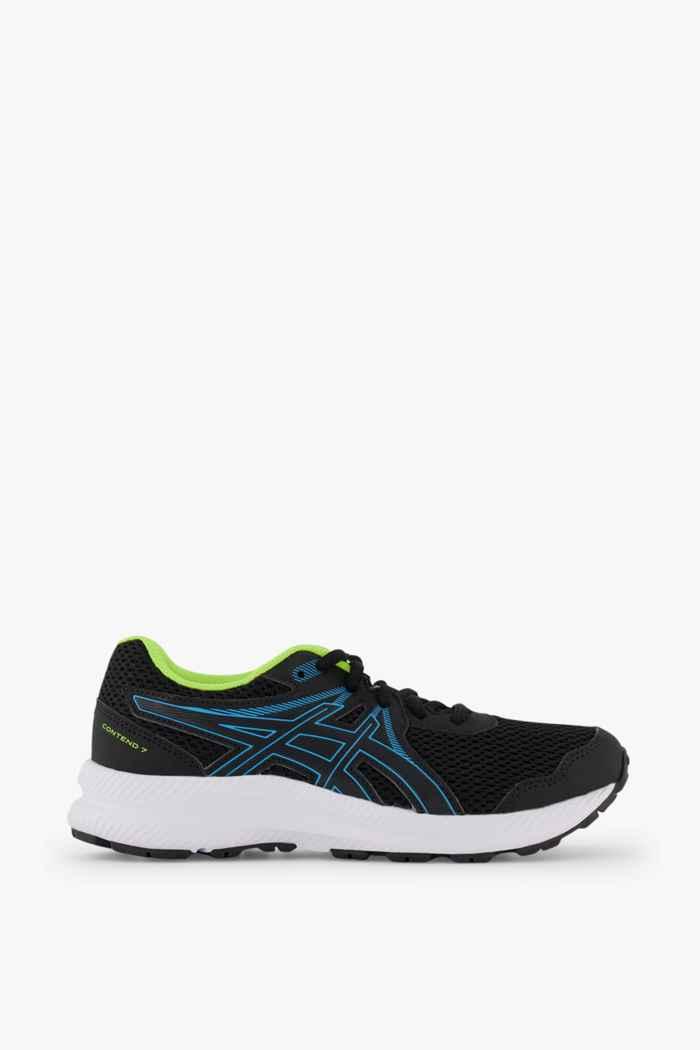 ASICS Contend 7 GS chaussures de course enfants Couleur Noir 2