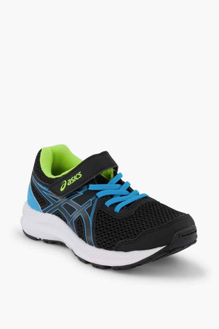 ASICS Contend 7 PS chaussures de course enfants Couleur Noir 1