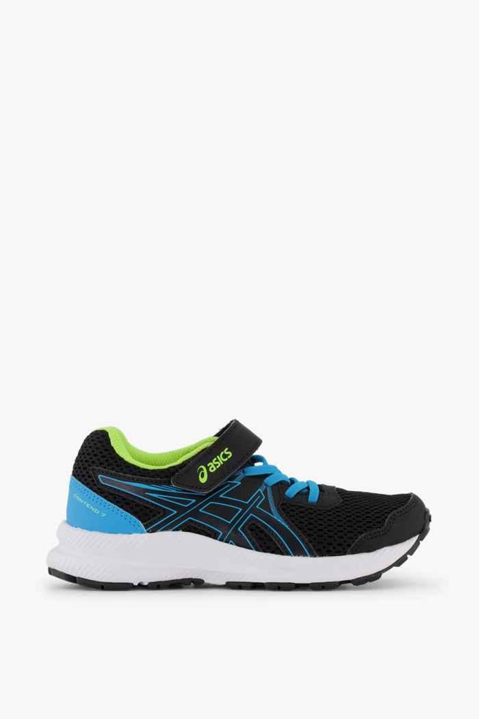ASICS Contend 7 PS chaussures de course enfants Couleur Noir 2