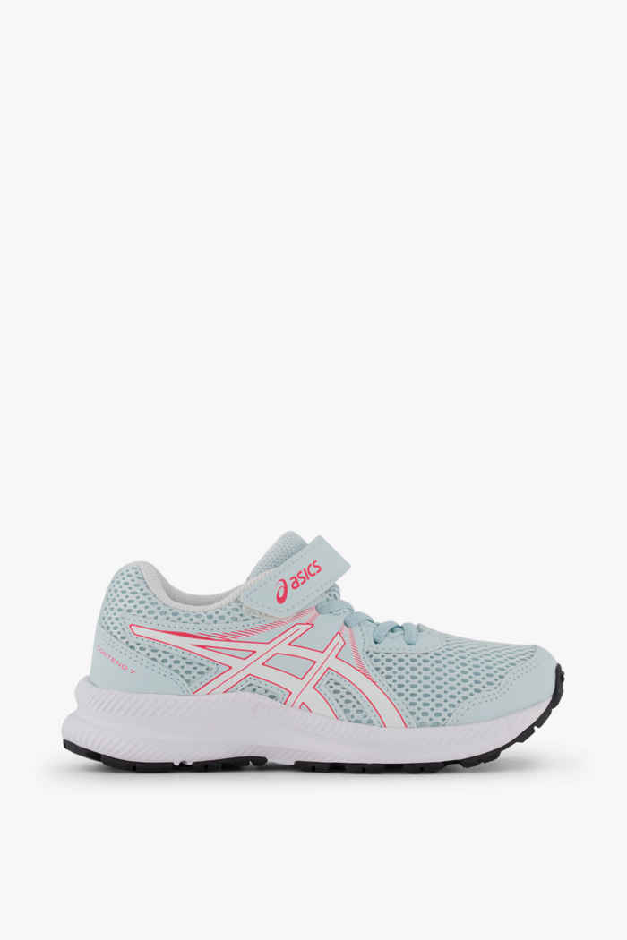 ASICS Contend 7 PS chaussures de course filles Couleur Blanc 2