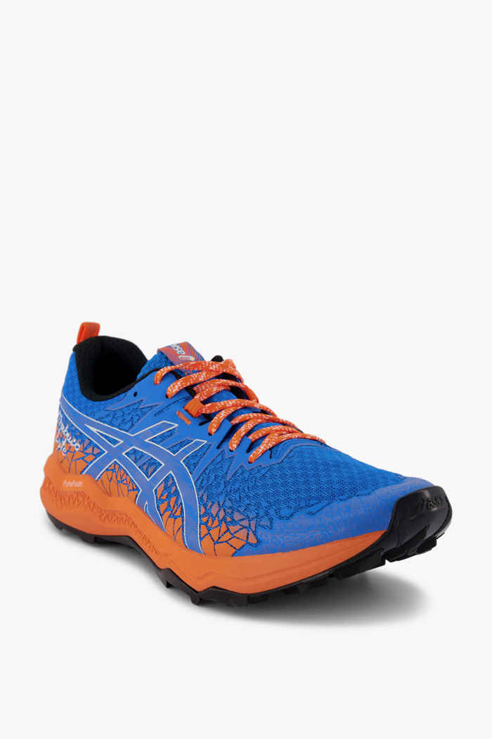 ASICS FujiTrabuco Lyte chaussures de trailrunning hommes Couleur Bleu 1