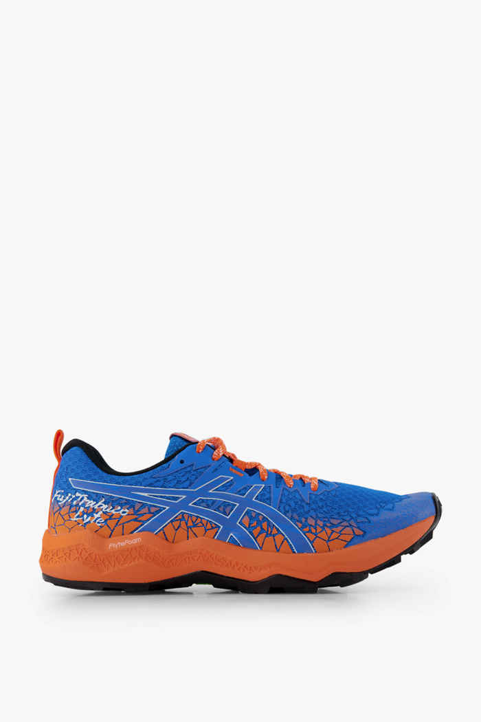 ASICS FujiTrabuco Lyte chaussures de trailrunning hommes Couleur Bleu 2