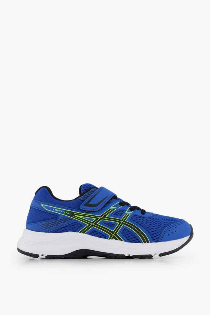 ASICS Gel Contend 6 PS scarpe da corsa bambino Colore Blu 2