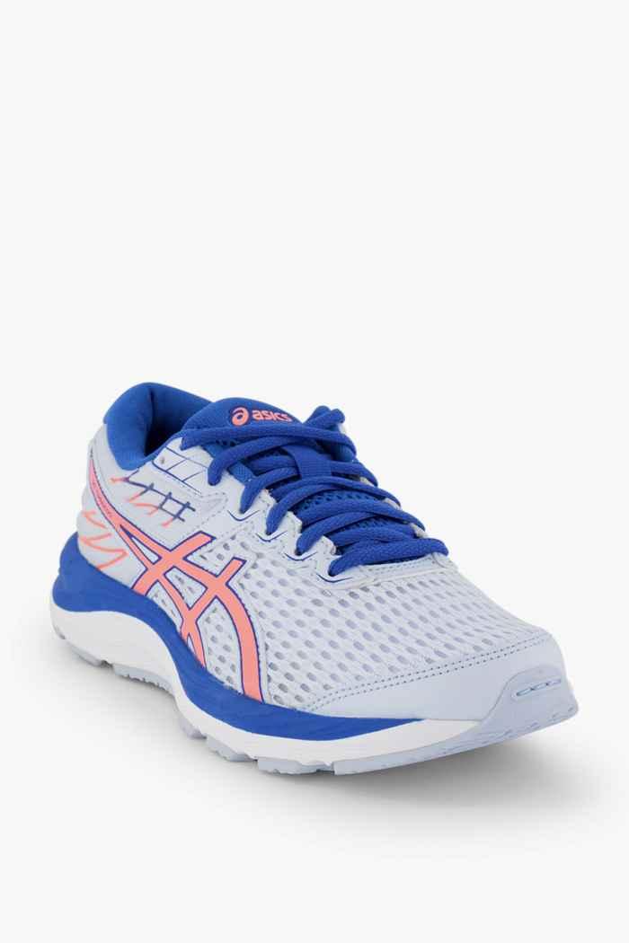 ASICS Gel Cumulus 21 GS chaussures de course enfants Couleur Blanc/bleu 1