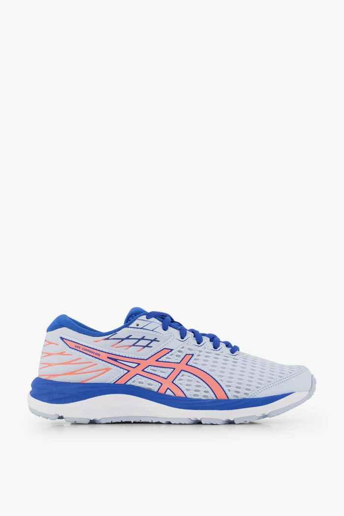 ASICS Gel Cumulus 21 GS chaussures de course enfants Couleur Blanc/bleu 2
