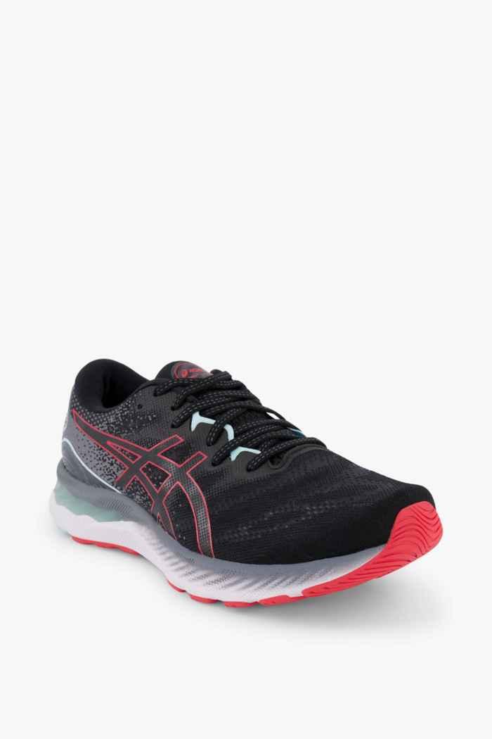 ASICS Gel Nimbus 23 chaussures de course hommes Couleur Noir/rouge 1