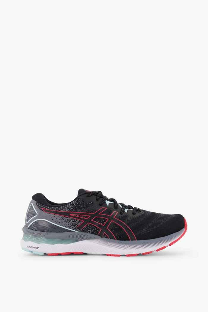 ASICS Gel Nimbus 23 chaussures de course hommes Couleur Noir/rouge 2