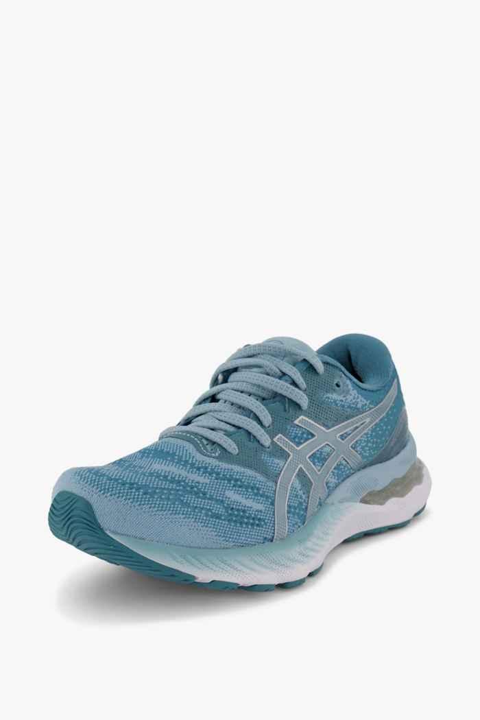 ASICS Gel Nimbus 23 Damen Laufschuh Farbe Blau 1