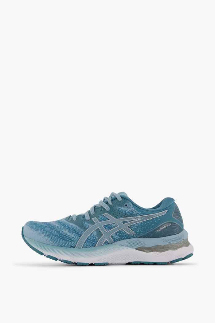 ASICS Gel Nimbus 23 Damen Laufschuh Farbe Blau 2