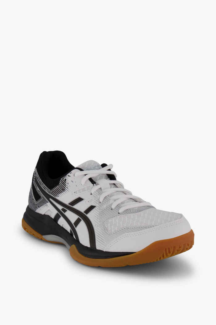 ASICS Gel Rocket 9 chaussures de salle femmes Couleur Noir-blanc 1