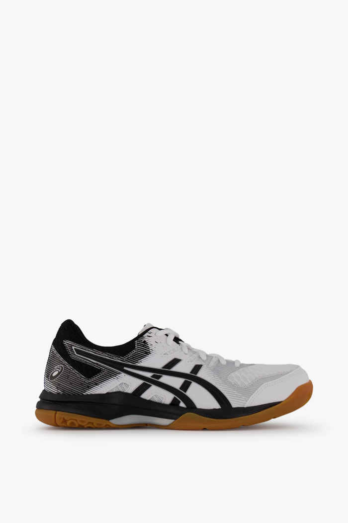 ASICS Gel Rocket 9 chaussures de salle femmes Couleur Noir-blanc 2