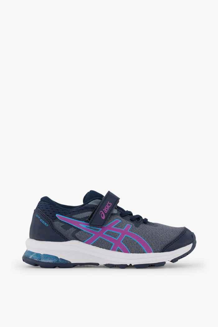 ASICS GT 1000 10 PS chaussure de ski de fond filles Couleur Bleu 2