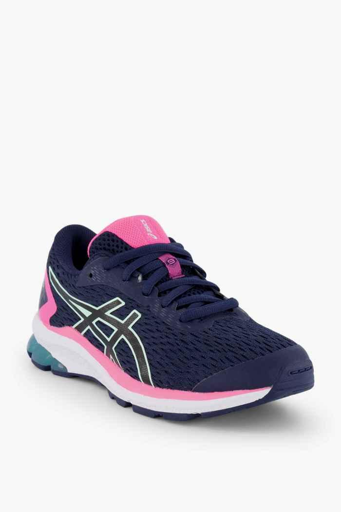 ASICS GT 1000 9 GS chaussures de course filles Couleur Bleu foncé 1