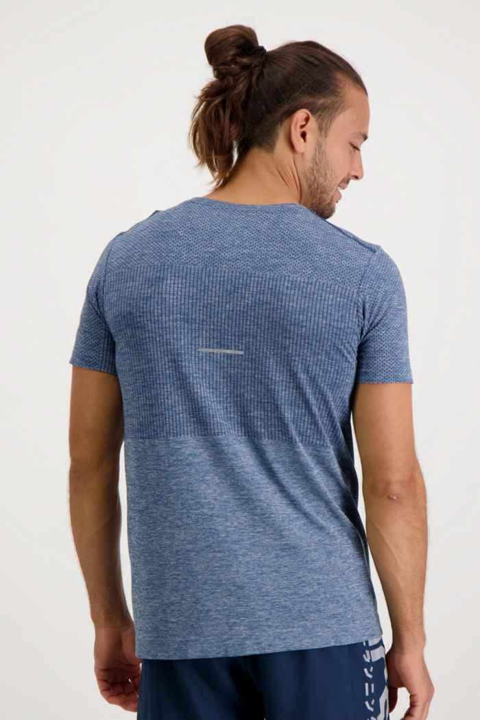 ASICS Race Seamless Herren T-Shirt Farbe Blau 2