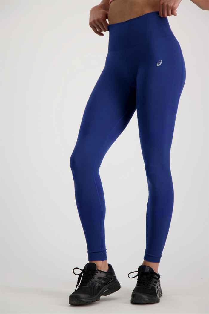ASICS Seamless Damen Tight Farbe Blau 1