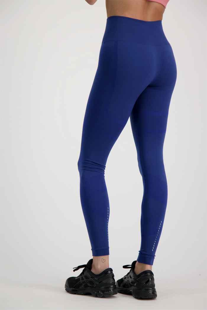 ASICS Seamless Damen Tight Farbe Blau 2