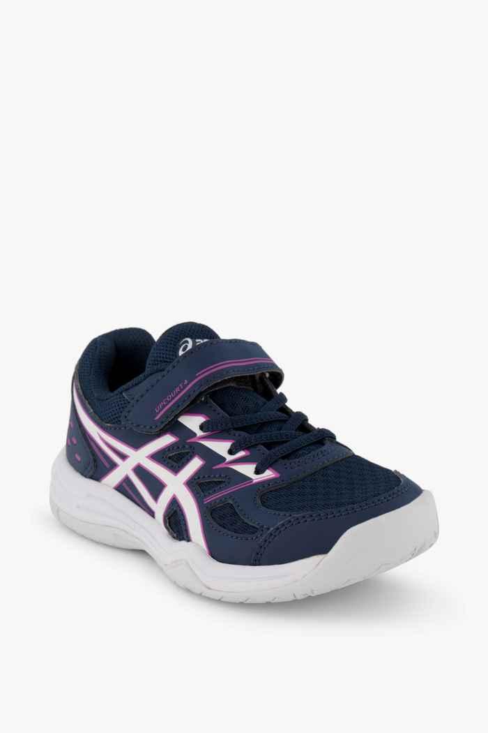 ASICS Upcourt 4 PS chaussures de salle filles Couleur Bleu 1