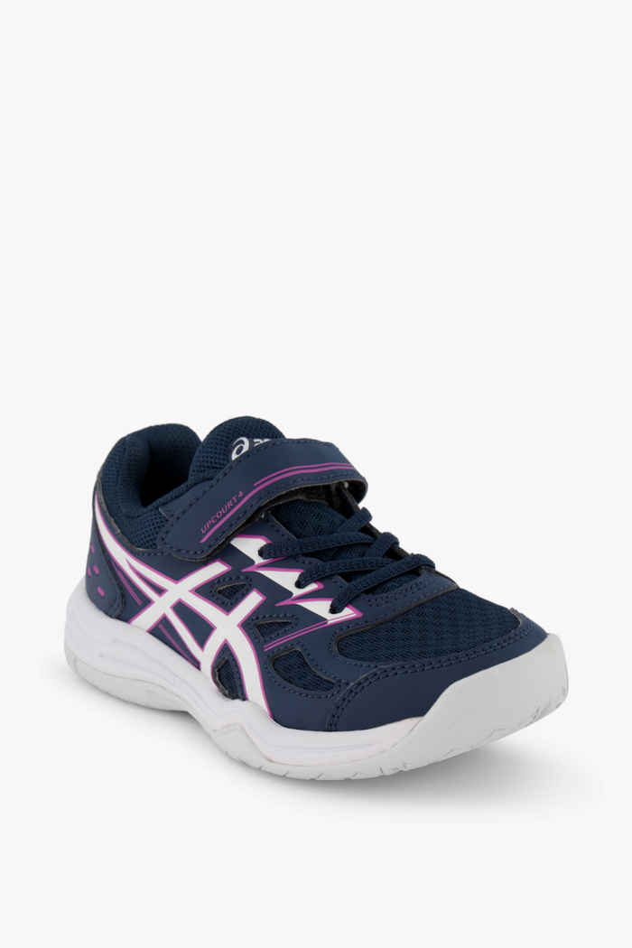 ASICS Upcourt 4 PS scarpe da palestra bambina Colore Blu 1