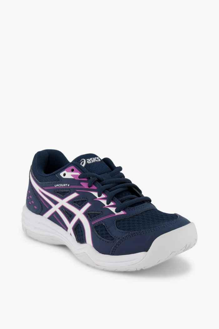 ASICS Upcourt GS chaussures de salle filles Couleur Bleu 1