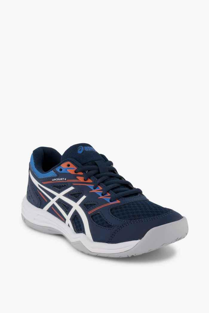 ASICS Upcourt GS chaussures de salle garçons Couleur Bleu 1