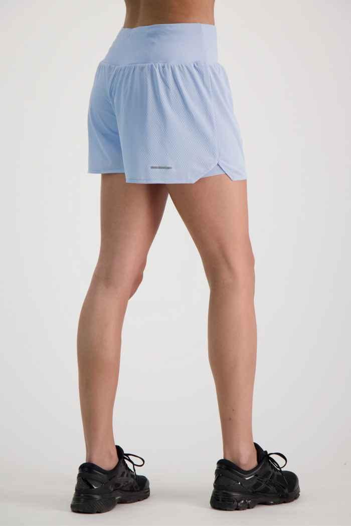 ASICS Ventilate 2in1 3.5 Inch short femmes Couleur Bleu clair 2