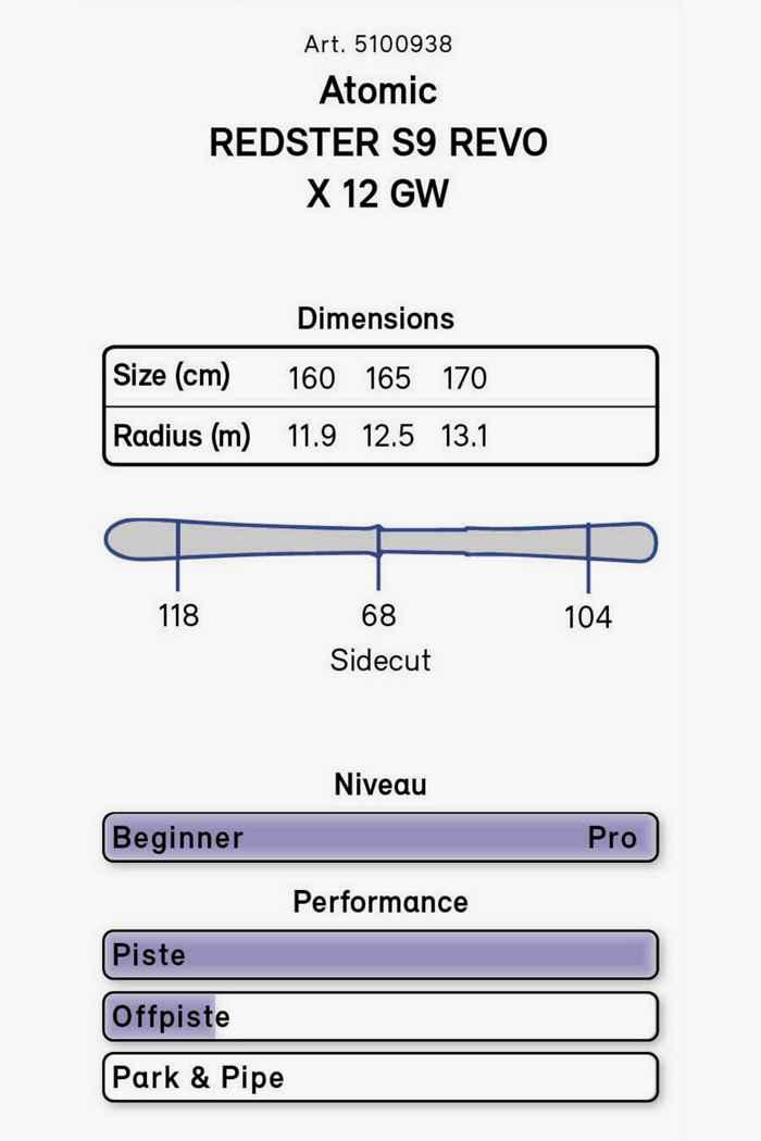 Atomic Redster S9 Revo S Ski Set 21/22 2