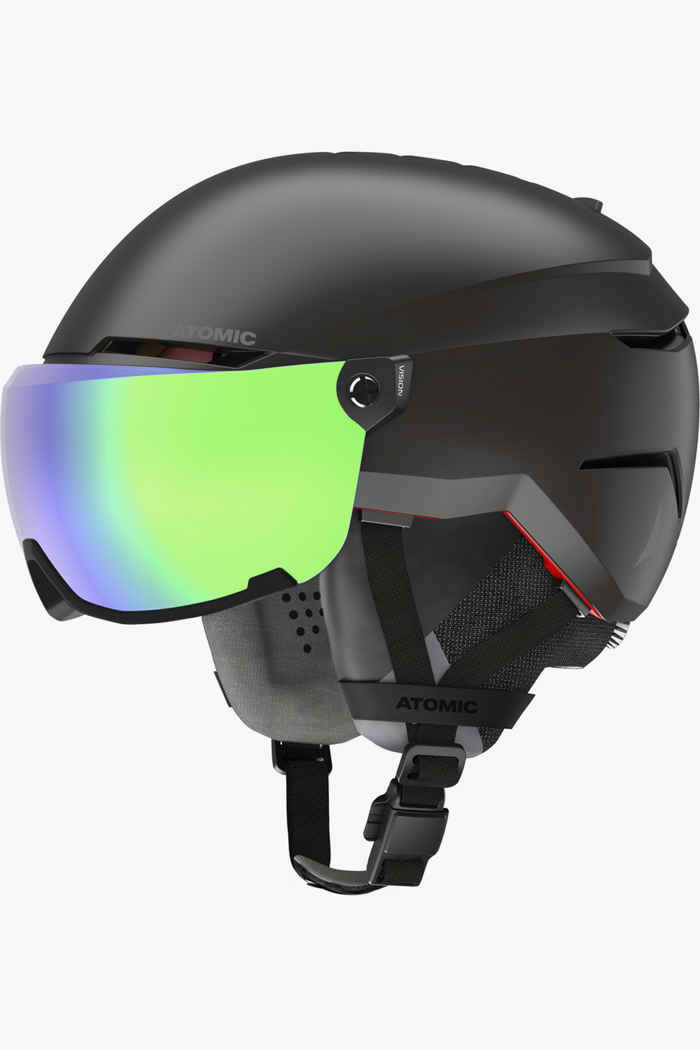 Atomic Savor Amid Visor HD Skihelm Farbe Schwarz 1