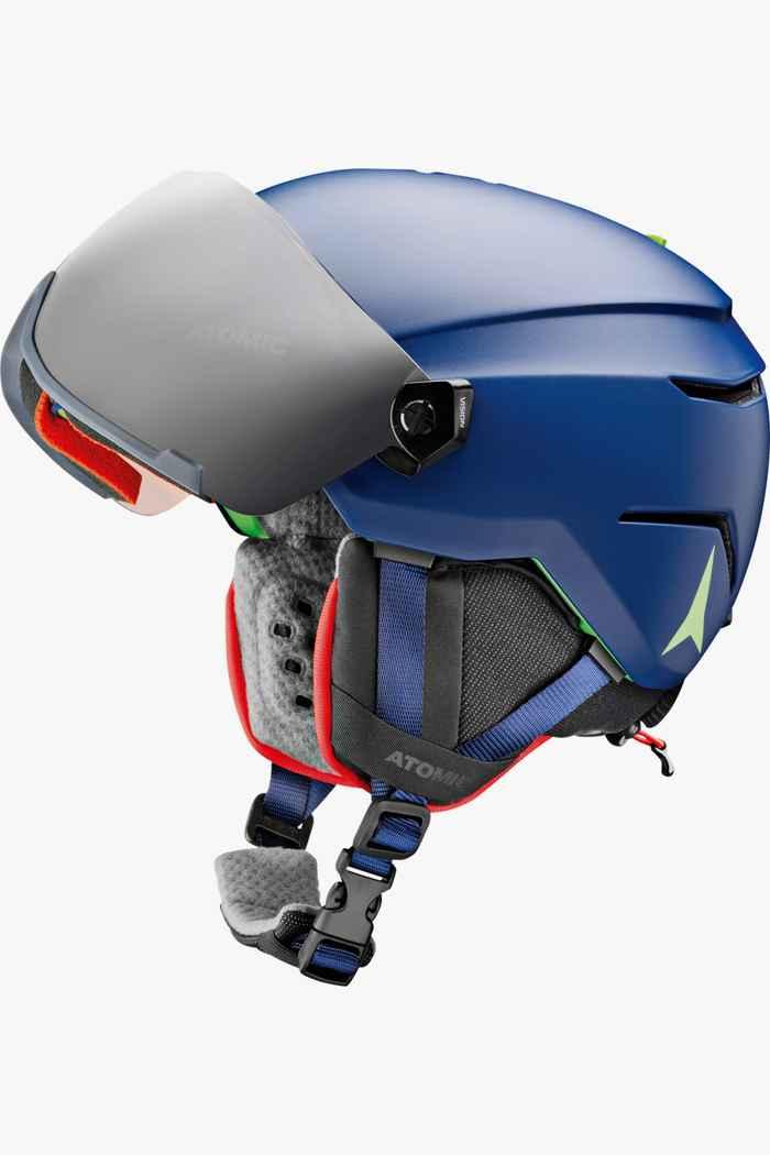 Atomic Savor Visor casque de ski enfants Couleur Bleu 2