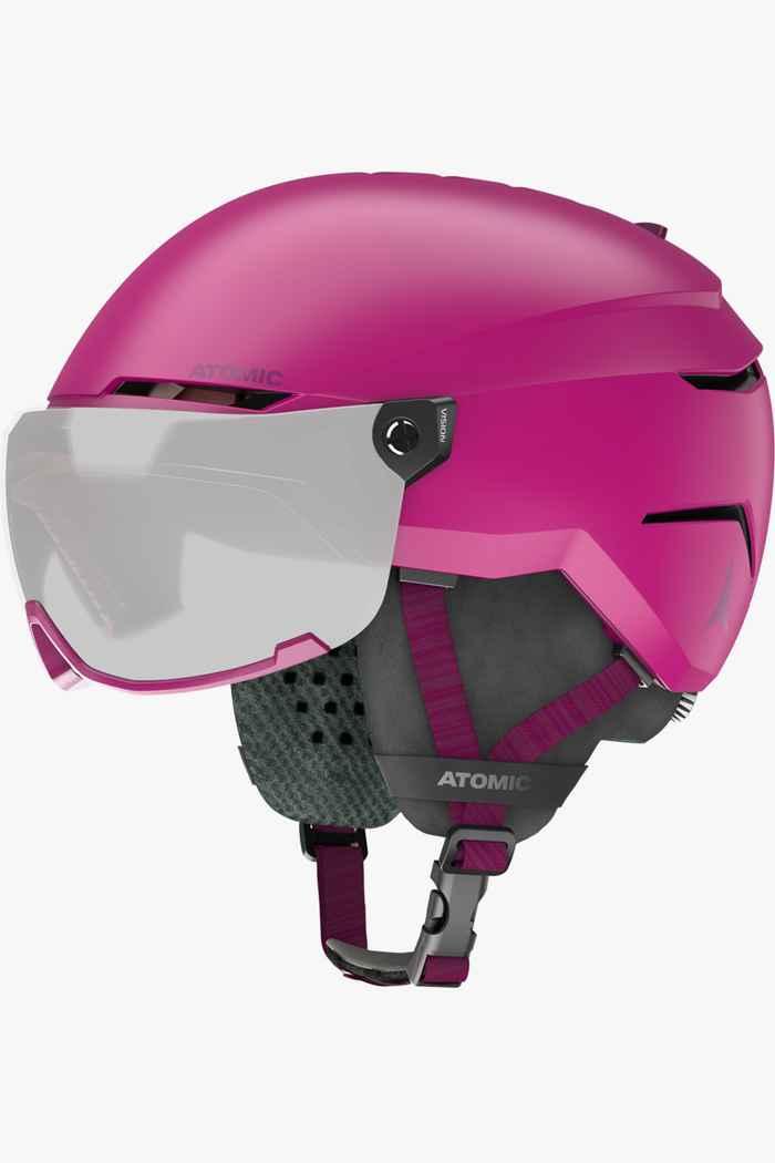 Atomic Savor Visor Mädchen Skihelm Farbe Pink 1