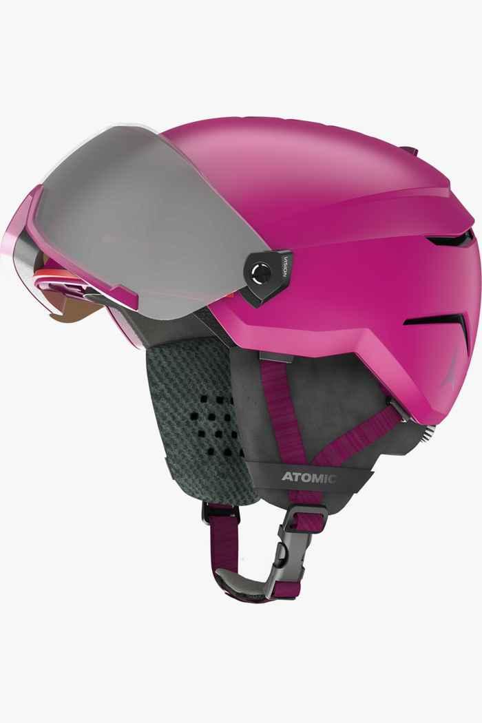 Atomic Savor Visor Mädchen Skihelm Farbe Pink 2