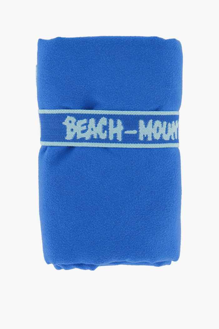 Beach Mountain 110 cm x 175 cm panno microfibra Colore Blu royal 1