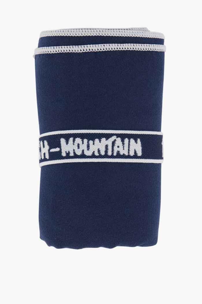 Beach Mountain 75 cm x 130 cm torchon en microfibres Couleur Bleu navy 1