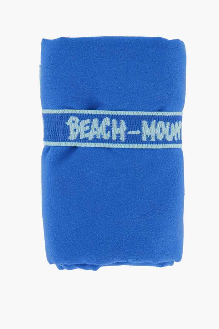 Beach Mountain 75 cm x 130 cm torchon en microfibres Couleur Bleu roi 1