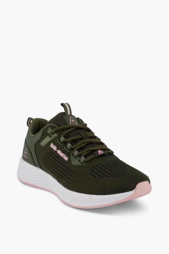 Beach Mountain Delicate Damen Sneaker Farbe Olive 1