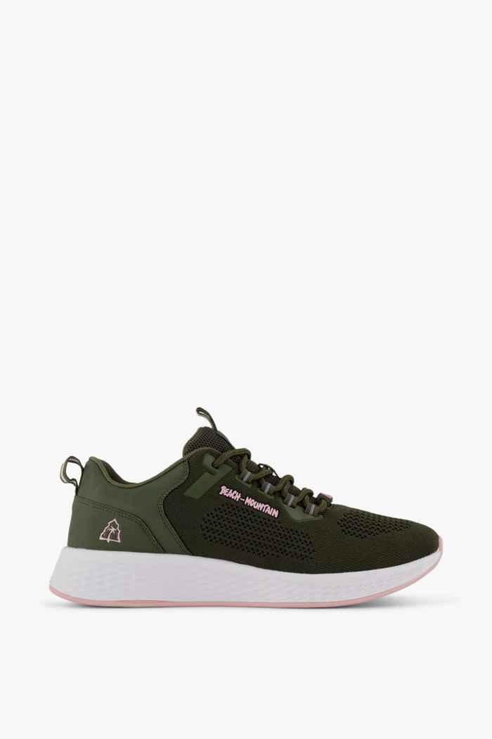 Beach Mountain Delicate Damen Sneaker Farbe Olive 2