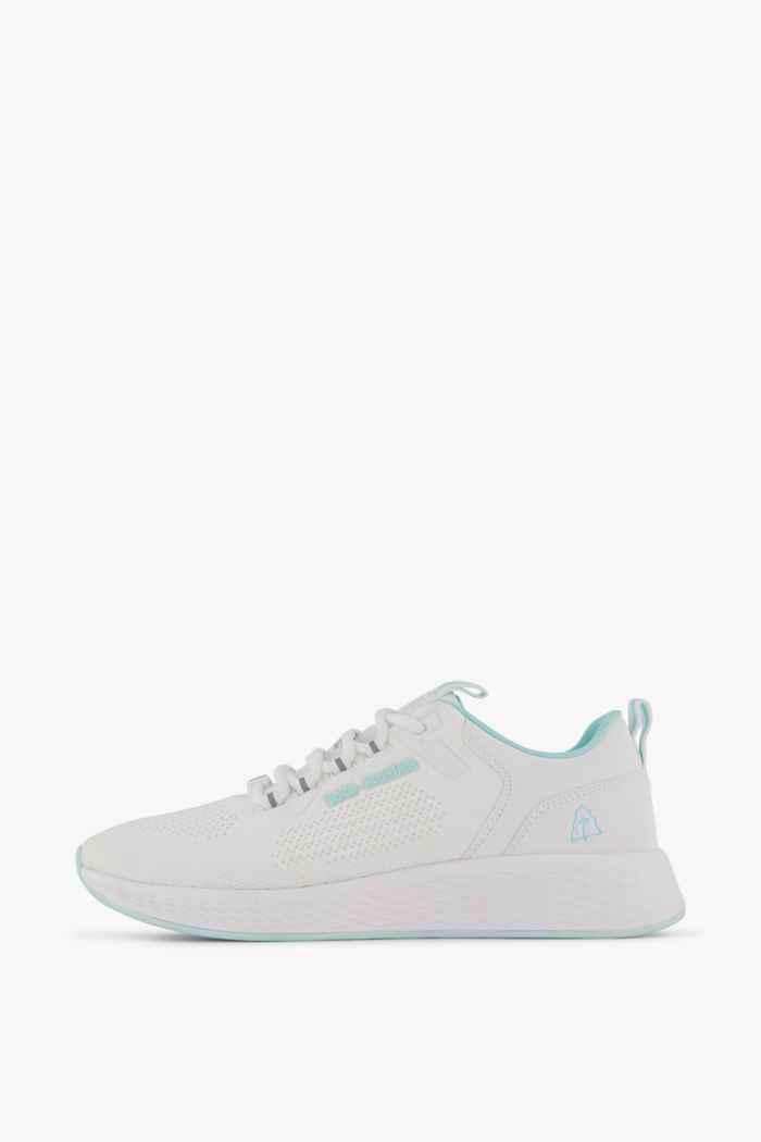 Beach Mountain Delicate Damen Sneaker Farbe Weiß 2