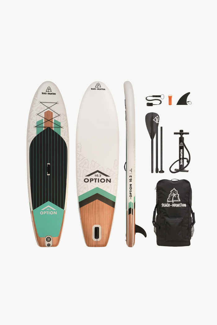 Beach Mountain Option 10.2 Stand Up Paddle (SUP) 2021 1