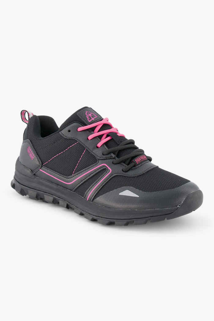 Beach Mountain Rough Tex Damen Sneaker Farbe Schwarz 1