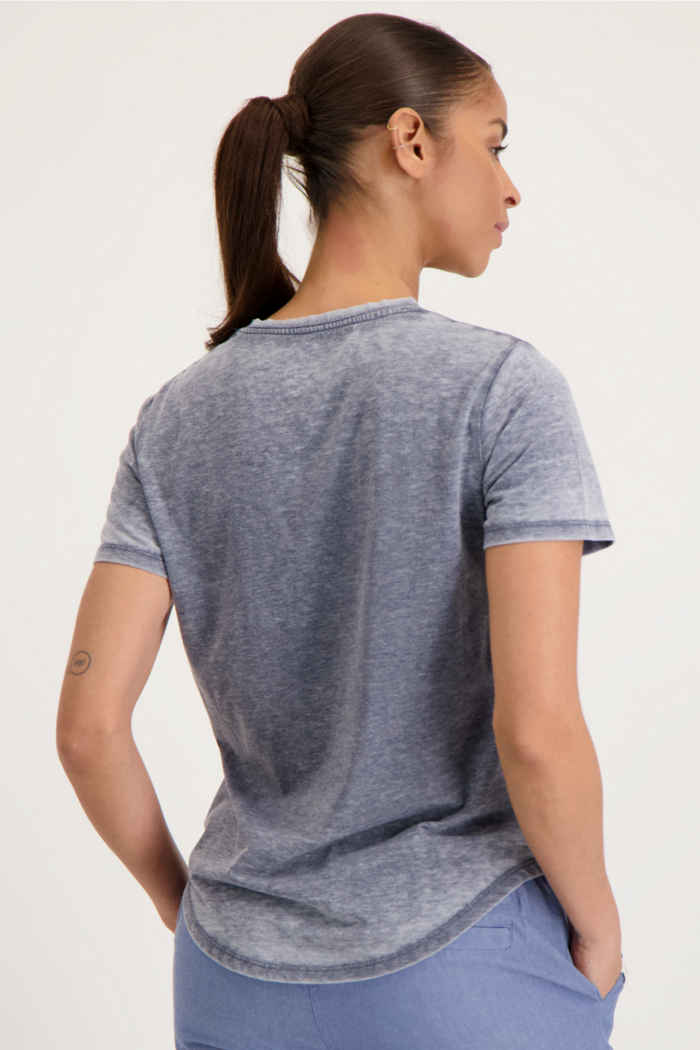 Beach Mountain t-shirt femmes Couleur Bleu navy 2
