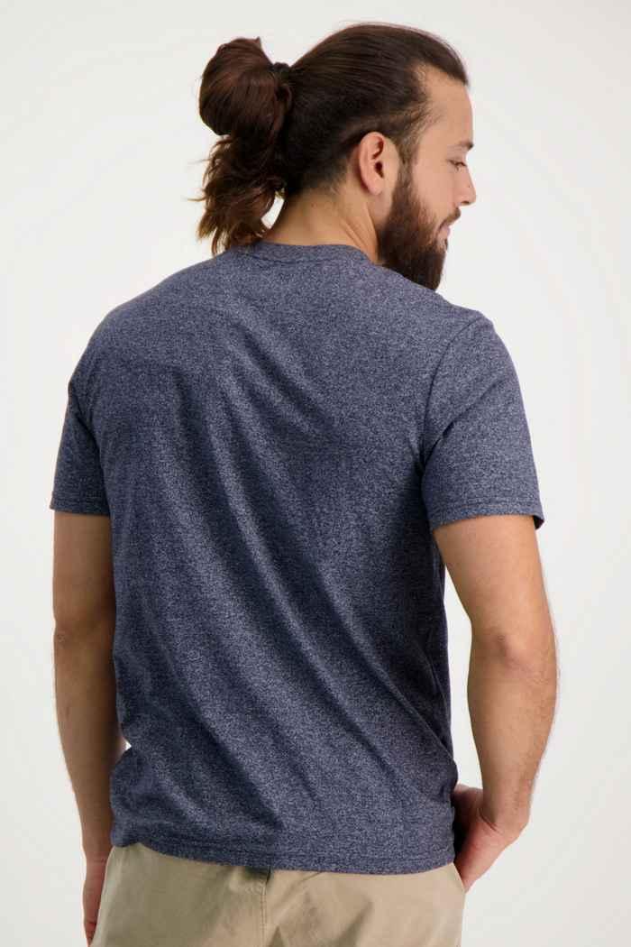 Beach Mountain t-shirt hommes Couleur Bleu navy 2