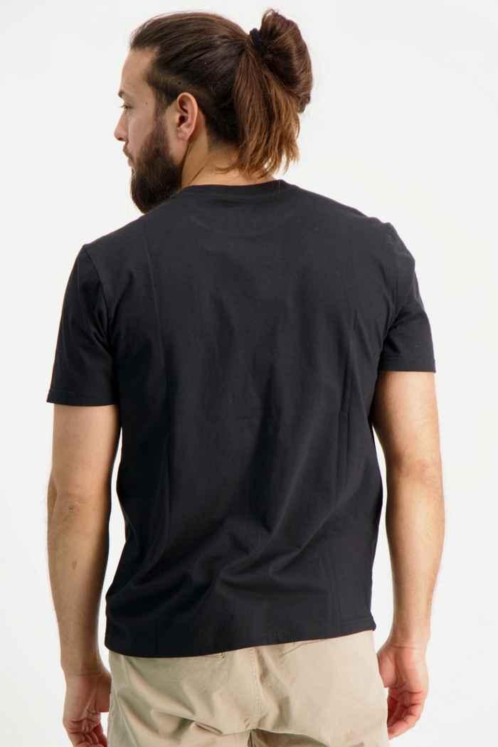 Beach Mountain t-shirt hommes Couleur Noir 2