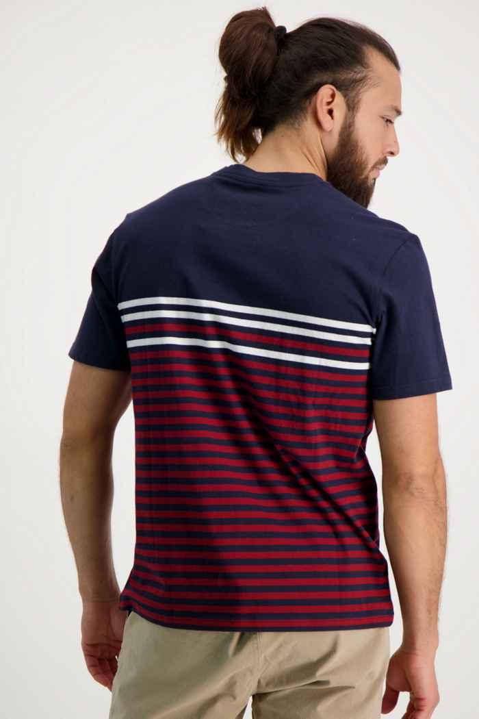 Beach Mountain t-shirt uomo Colore Blu-rosso 2